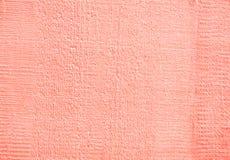 Den wood texturen som är ljusröd Arkivbilder