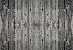 Den Wood texturväggen med spikar Royaltyfria Bilder