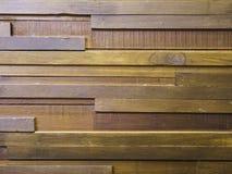 Den wood väggen Arkivbild