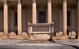 Den Yale universitetarvärlden kriger 1 minnes- Cenotaph Arkivfoton