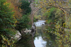 Den Yantra floden i Oktober Arkivbild