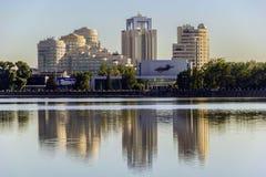 Den Yekaterinburg staden landskap (Ryssland) Arkivfoto