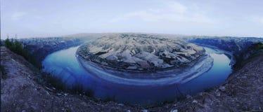 Den Yellow River fjärden Royaltyfri Fotografi