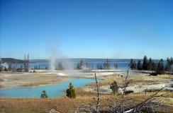 Den Yellowstone nutionalen parkerar Royaltyfri Bild