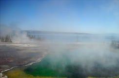 Den Yellowstone nutionalen parkerar Arkivbilder