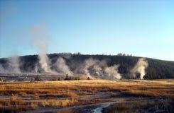 Den Yellowstone nutionalen parkerar Royaltyfria Bilder