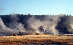 Den Yellowstone nutionalen parkerar Royaltyfri Fotografi