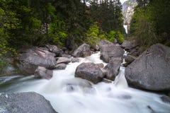 Den Yosemite nationalparken är en Förenta staternanationalpark arkivfoto