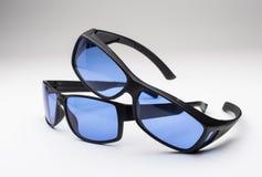 Den yrkesmässiga kvaliteten växer rumexponeringsglasskyddsglasögon arkivbild