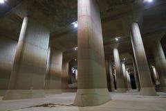 Den yttre underjordiska urladdningskanalen för storstadsområde Fotografering för Bildbyråer