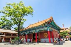 Den Yuantong templet är den mest berömda buddistiska templet i det Kunming, Yunnan landskapet, Kina Royaltyfri Foto