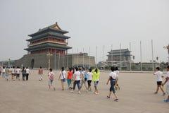 Den Zhengyang porten Arkivfoton
