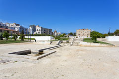 Den Zisa slotten i Palermo, Sicilien italy Arkivbilder