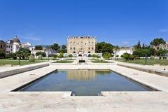 Den Zisa slotten i Palermo, Sicilien italy Royaltyfria Bilder