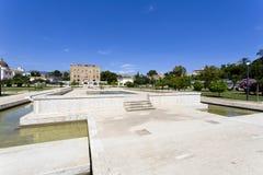 Den Zisa slotten i Palermo, Sicilien italy Arkivfoton