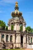 Den Zwinger slotten av Dresden. Royaltyfri Fotografi