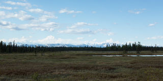 Denali and the Alaska Range Royalty Free Stock Photos
