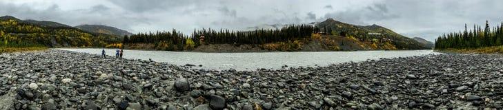 Denali Alaska River Royalty Free Stock Image