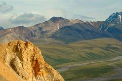 Denali Berge lizenzfreies stockfoto