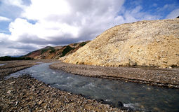 Denali Braided River. This is a picture of a braided river in Denali National park Royalty Free Stock Image
