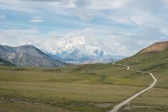 Denali (der Mount McKinley) Stockfotos