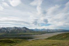 Denali (el monte McKinley) Fotografía de archivo libre de regalías