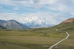 Denali (el monte McKinley) Fotos de archivo