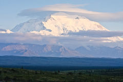Denali and Fields Royalty Free Stock Images
