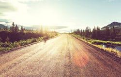 Denali highway Stock Image