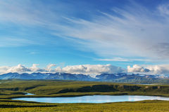 Denali highway Royalty Free Stock Photos
