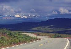 Denali highway Royalty Free Stock Photos