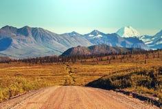 Denali highway Stock Photo