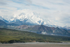 Denali (όρος McKinley) Στοκ Εικόνες