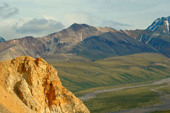 Denali Mountains Royalty Free Stock Photo