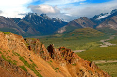 Denali Mountans Stockbild