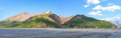 Denali Nationaal Park - Alaska royalty-vrije stock afbeelding