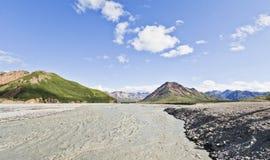 Denali Nationaal Park in Alaska de V.S. Royalty-vrije Stock Afbeelding