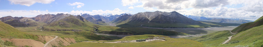 Denali National park Royalty Free Stock Photo