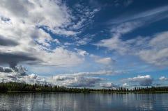 Denali National Park, Alaska. Beautiful Otto lake in Denali National Park Royalty Free Stock Image