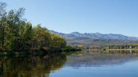 Denali National Park, Alaska. Beautiful  Otto lake in Denali National Park on Alaska Royalty Free Stock Photos