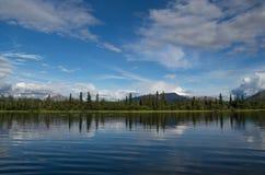 Denali National Park, Alaska. Enali National Park and Preserve is a national park and preserve located in Interior Alaska, centered on Denali, the highest Stock Photography