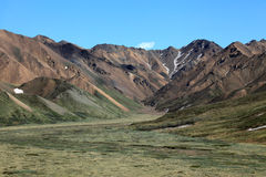 Denali National Park. Landscapes at Denali National Park in Alaska Royalty Free Stock Photography