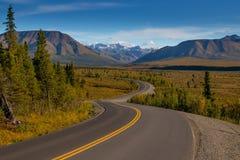 Denali National Park and Preserve highway, Tourism, Alaska, North America, United States of America, wildlife watching, hiking. Denali National Park and Preserve royalty free stock images
