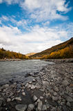 Denali National Park River in Alaska Stock Photography
