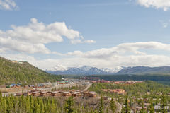 Denali National Park village Stock Images