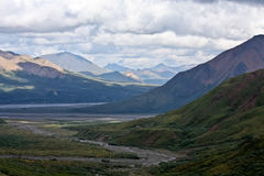 Denali Park Landscape Stock Photo