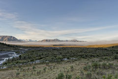 Denali Park Mount Mc Kinley panorama Royalty Free Stock Image