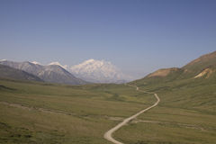 Denali Park Road Royalty Free Stock Photo