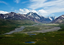 Denali's Polychrome Pass Royalty Free Stock Image