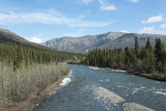 Denali's Sanctuary River Stock Photo